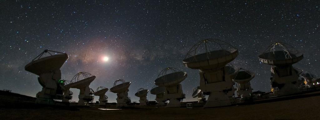 Radiotelescopio ALMA.